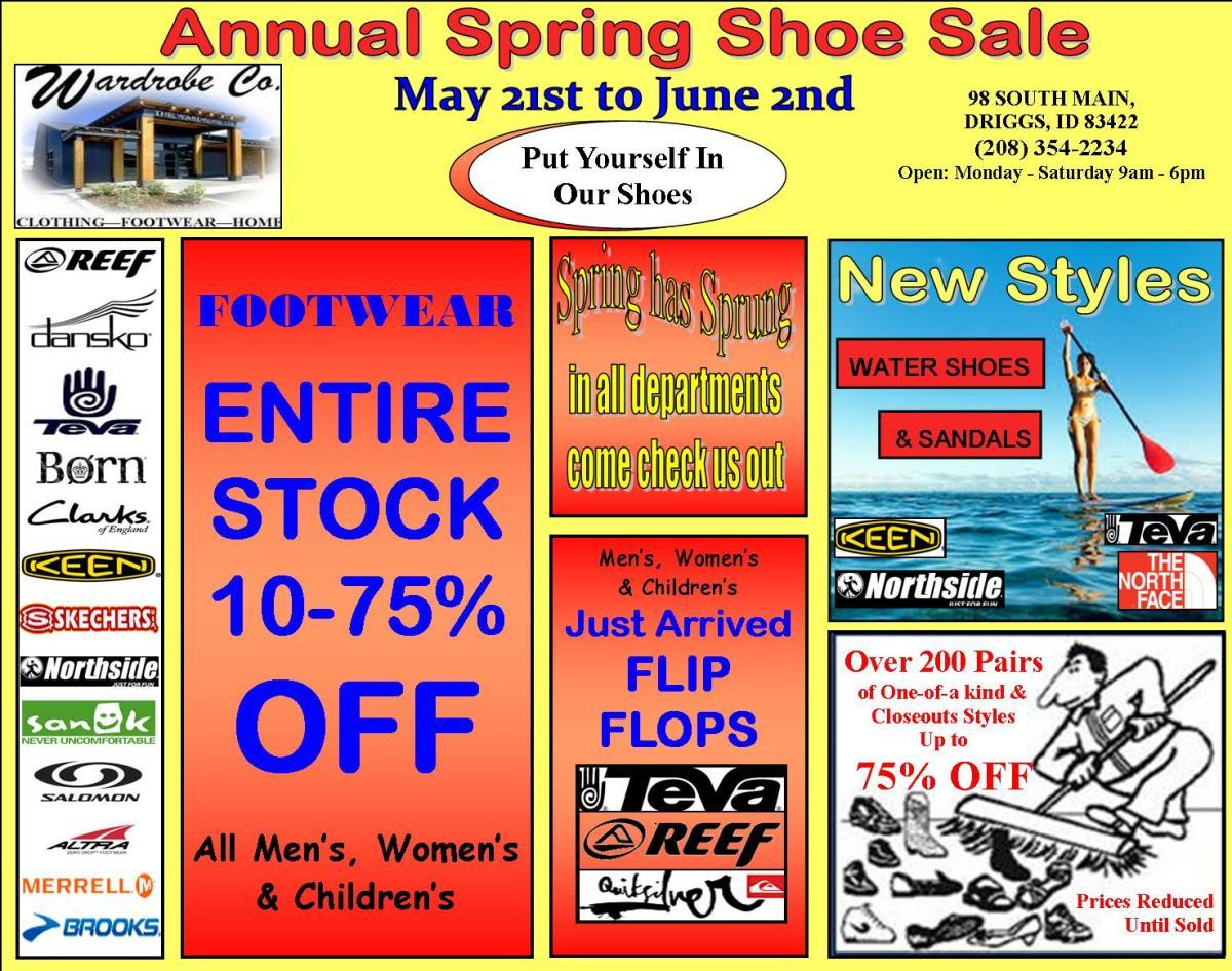 Annual Spring Sale 2018